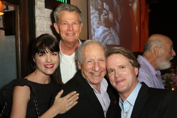 Selma Blair Cary Elwes David Foster Mel Brooks at As You Wish Book Launch