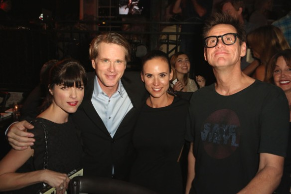 Selma Blair Lisa Marie Kubikoff Cary Elwes Jim Carrey As You Wish Book Launch 2