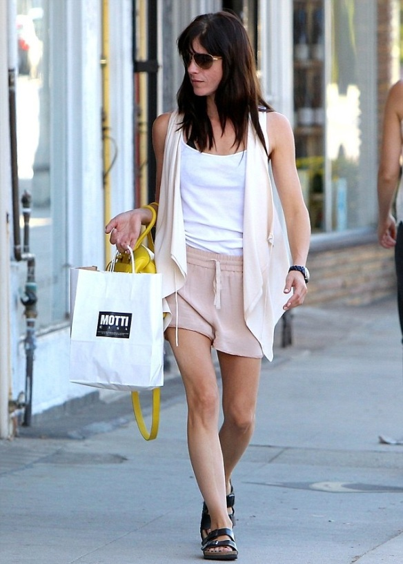 Selma Blair Shops Motti Casa in Studio City 1