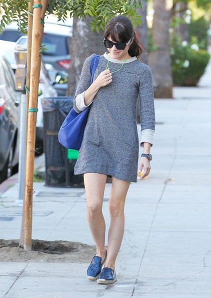 Selma Blair Spotted Leaving Nail Solon 1