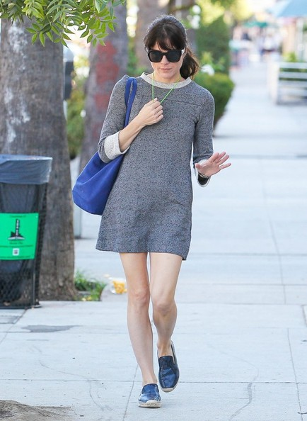 Selma Blair Spotted Leaving Nail Solon 5