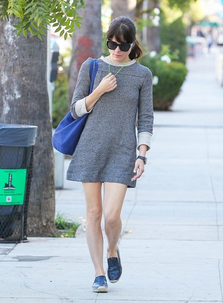 Selma Blair Spotted Leaving Nail Solon 7