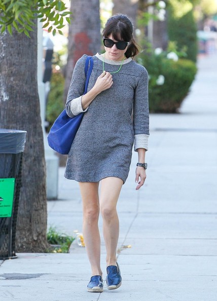 Selma Blair Spotted Leaving Nail Solon 8