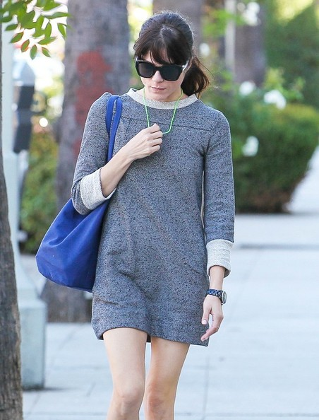 Selma Blair Spotted Leaving Nail Solon 9