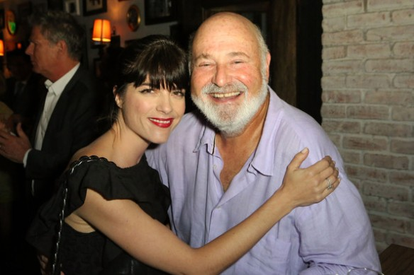 Selma Blair With Director Producer Rob Reiner As You Wish Book Launch 1