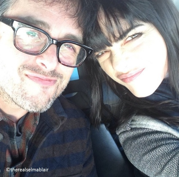 Selma Blair and Billie Joe Armstong On The Set Of GEEZER
