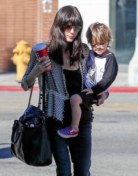 Selma Blair Running Errands With Son Arthur 2