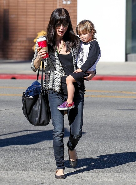 Selma Blair Running Errands With Son Arthur 3