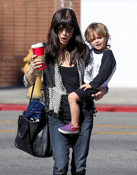 Selma Blair Running Errands With Son Arthur 4