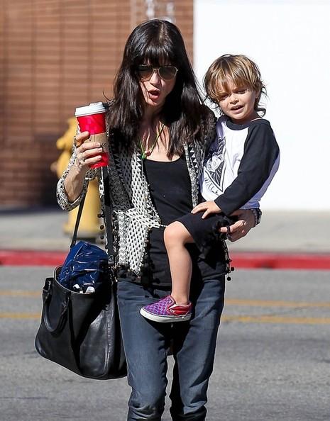 Selma Blair Running Errands With Son Arthur 4