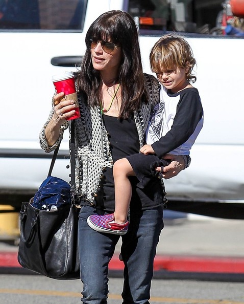 Selma Blair Running Errands With Son Arthur 6