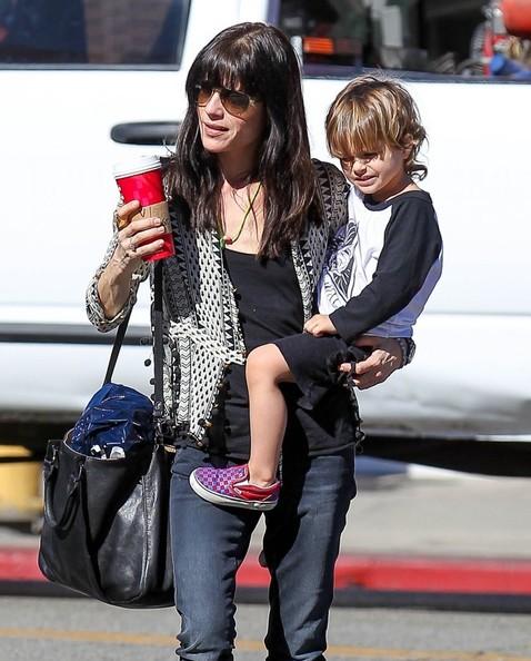 Selma Blair Running Errands With Son Arthur 6