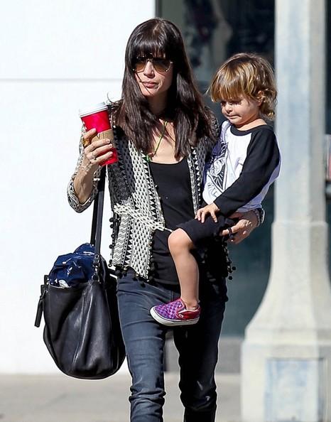 Selma Blair Running Errands With Son Arthur 7