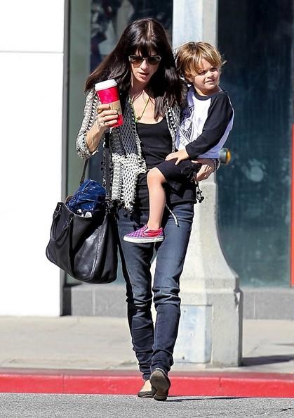 Selma Blair Running Errands With Son Arthur 8