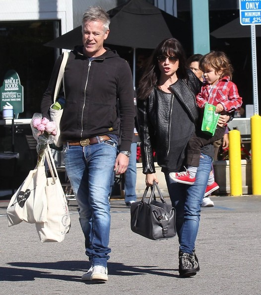 Selma Blair Grocery Run With Son Saint 1