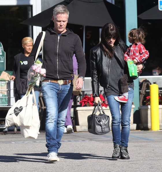 Selma Blair Grocery Run With Son Saint 2