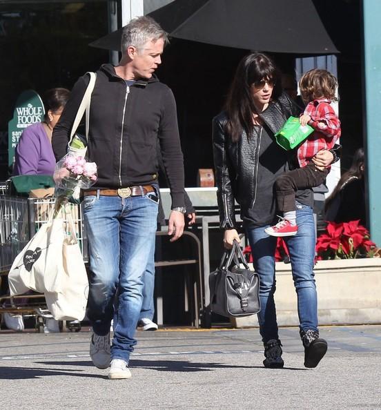 Selma Blair Grocery Run With Son Saint 3