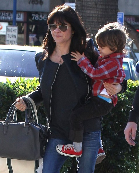 Selma Blair Grocery Run With Son Saint 5