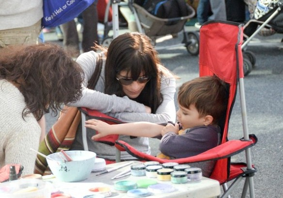 Selma Blair & Son Arthur Farmers Market January 2015 10