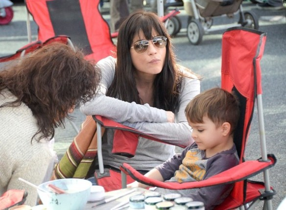 Selma Blair & Son Arthur Farmers Market January 2015 11