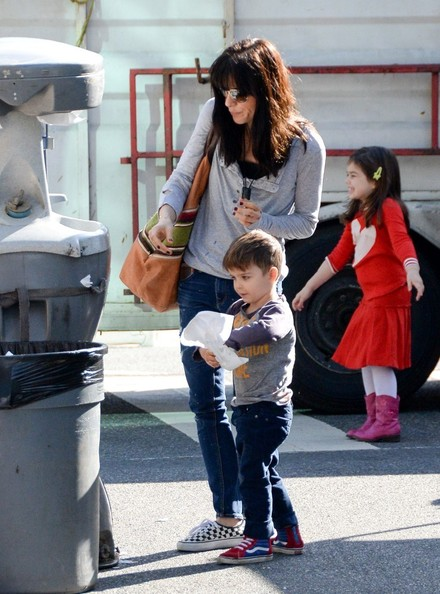 Selma Blair & Son Arthur Farmers Market January 2015 3