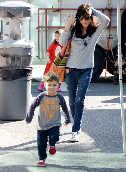 Selma Blair & Son Arthur Farmers Market January 2015 4