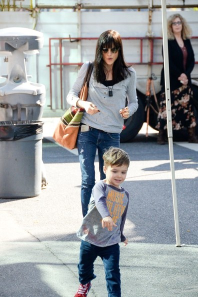 Selma Blair & Son Arthur Farmers Market January 2015 5