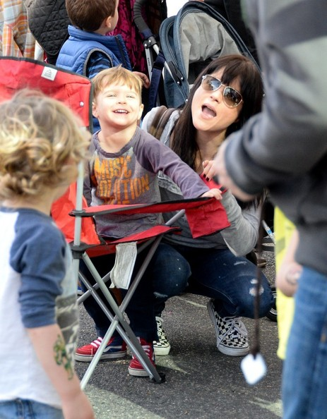 Selma Blair & Son Arthur Farmers Market January 2015 7