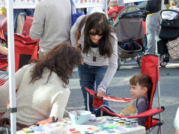 Selma Blair & Son Arthur Farmers Market January 2015 8