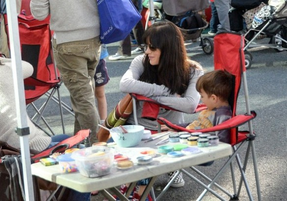 Selma Blair & Son Arthur Farmers Market January 2015 9
