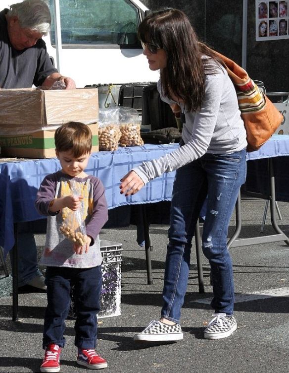Selma Blair with son Arthur 2