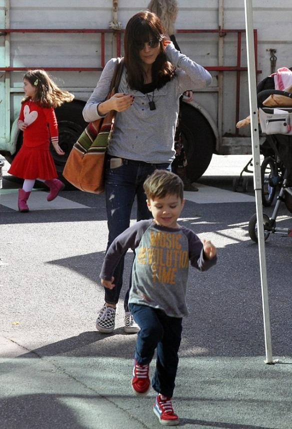 Selma Blair with son Arthur 3