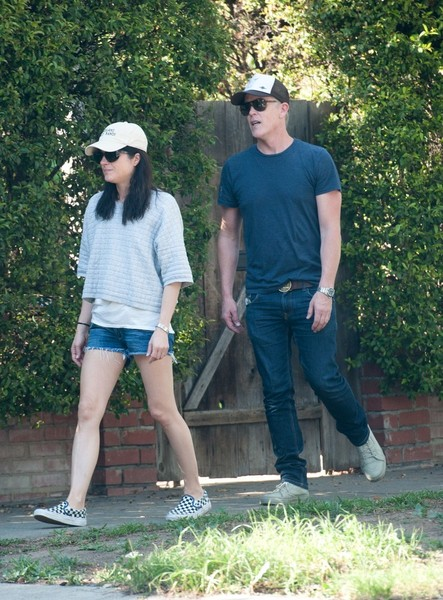 Selma Blair spends Sunday with Arthur and friends 3