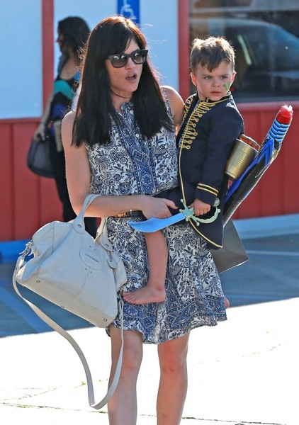 Captain Arthur and Selma Blair in Brentwood 2