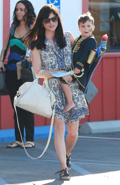 Captain Arthur and Selma Blair in Brentwood 4