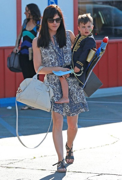 Captain Arthur and Selma Blair in Brentwood 5