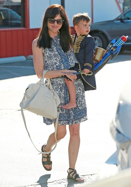 Captain Arthur and Selma Blair in Brentwood 6
