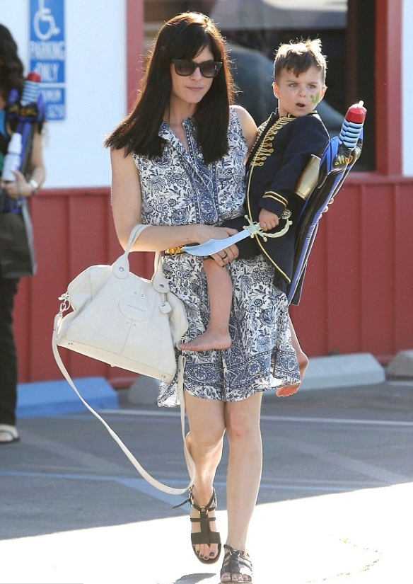 Captain Arthur and Selma Blair in Brentwood 8