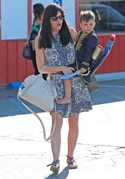 Captain Arthur and Selma Blair in Brentwood