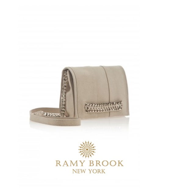 Ramy Brook Jayme Cross Body Bag as seen worn by Selma Blair March 6th 2015