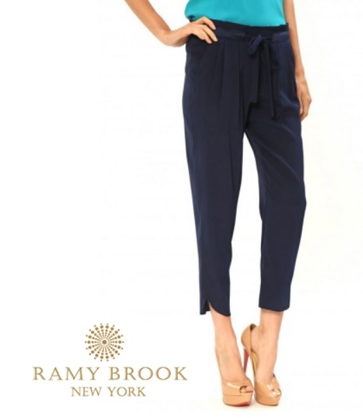 Ramy Brook Silk Pants as seen worn by Selma Blair March 6th 2015