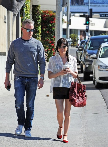Selma Blair Wearing Jenni Kayne Blouse 1
