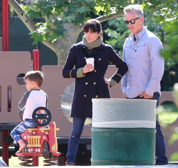 Selma Blair And Arthur Saint At The Playground 1