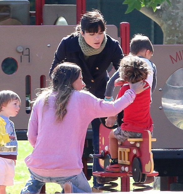 Selma Blair And Arthur Saint At The Playground 2