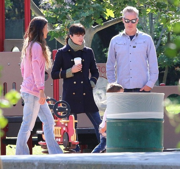 Selma Blair And Arthur Saint At The Playground 3