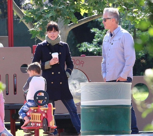 Selma Blair And Arthur Saint At The Playground 4