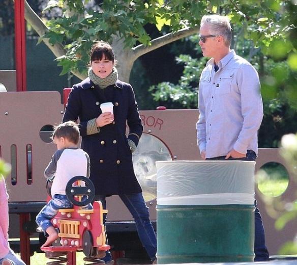 Selma Blair And Arthur Saint At The Playground 4