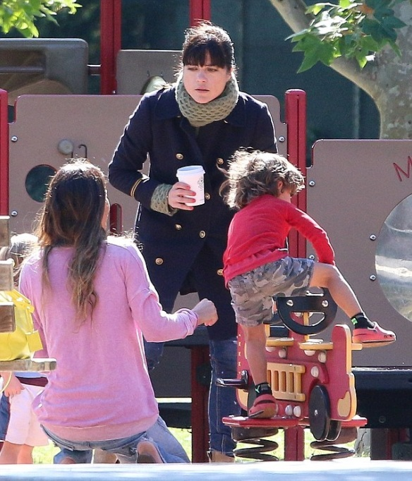 Selma Blair And Arthur Saint At The Playground 6