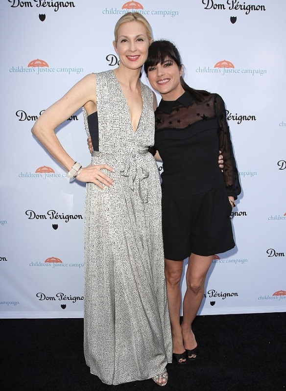 Selma Blair Kelly Rutherford Children's Justice Campaign 2