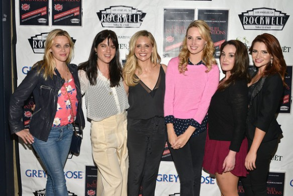 Selma Blair, Reese Witherspoon And Sarah Michelle Gellar Attend The Unauthorized Musical Parody Of Cruel Intentions 1